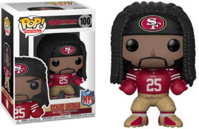 Funko POP! Football: 49ers - Richard Sherman
