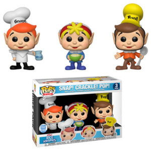 Funko POP! Ad Icons: Snap! Crackle! Pop! (3 Pack) (Funko)