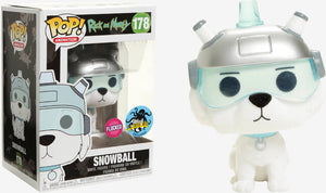 Funko POP! Animation: Rick And Morty - Snowball (Flocked)(LA Comic Con)