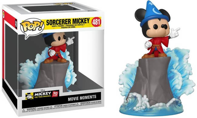 Funko POP! Movie Moment: Sorcerer Mickey