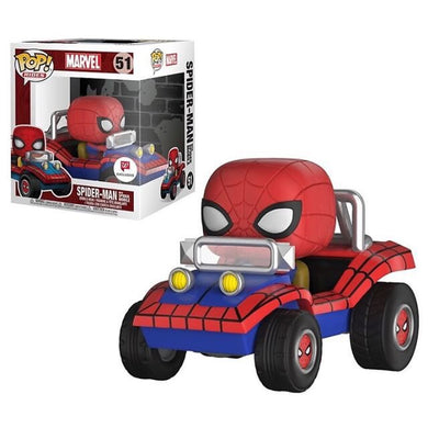 Funko POP Rides! Marvel: Spider-Man w/ Spider Mobile (Walgreens)