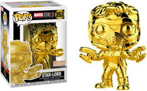 Funko POP! Marvel Studios: Star-Lord (Box Lunch)