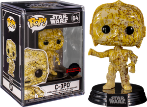 Funko POP! Star Wars: C-3PO (Target) (Special Edition Sticker)