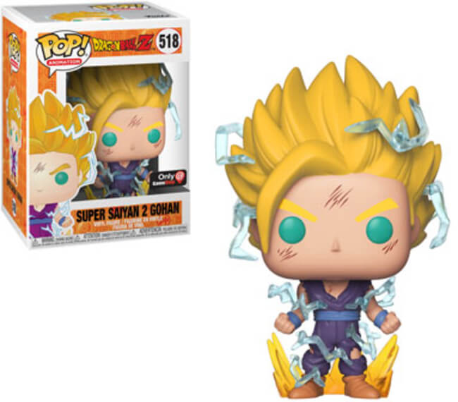 Funko POP! Animation: Dragon Ball Z - Super Saiyan 2 Gohan (GameStop)