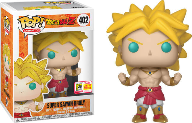 Funko POP! Animation: DBZ - Super Saiyan Broly (SDCC/Shared)