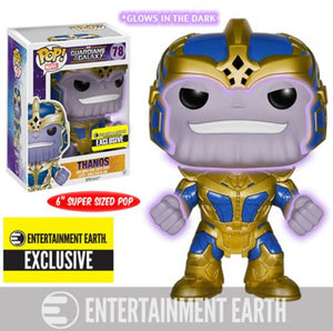 Funko POP! Marvel: Guardians of the Galaxy - Thanos (Entertainment Earth)
