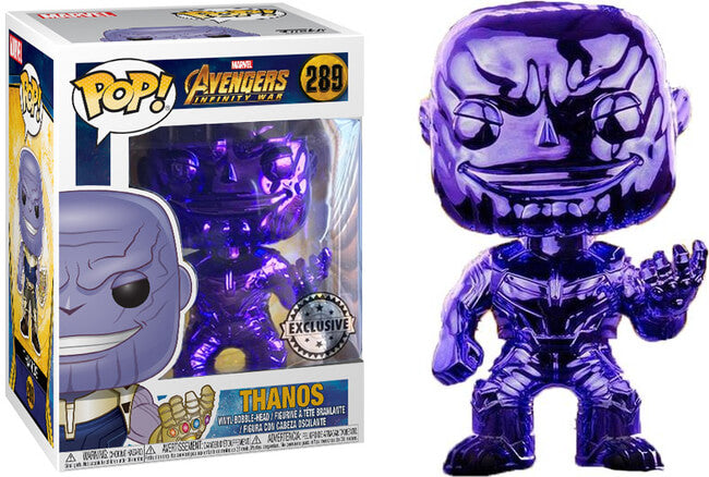 Funko POP! Marvel: Avengers - Thanos Purple Chrome
