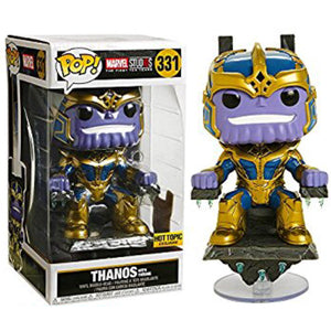 Funko POP! Marvel Studios: Thanos with Throne 6 inch (Hot Topic)