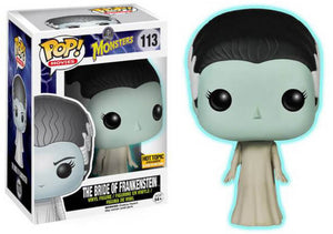 Funko POP! Movies: Monsters - The Bride of Frankenstein  (Hot Topic)