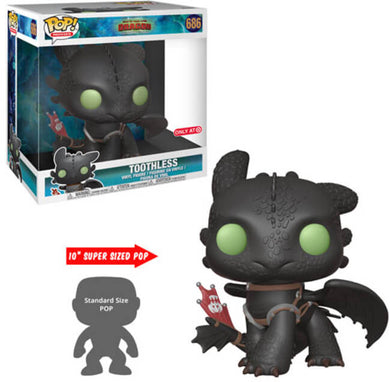 Funko POP! Movies: How To Train Your Dragon 3 - Toothless (10 Inch)