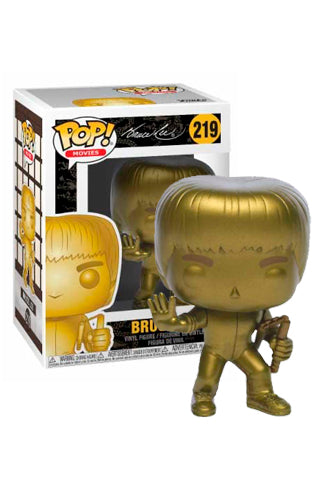 Funko POP! Movies: Bruce Lee - Game of Death Gold (Bait)
