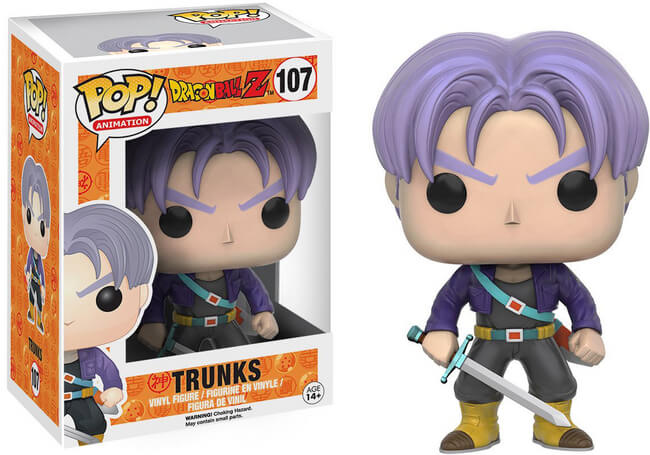 Funko POP! Animation: Dragon Ball Super - Trunks