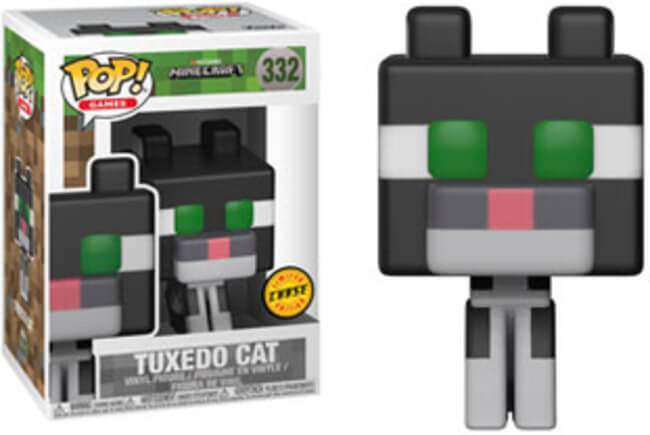 Funko POP! Games: Minecraft- Tuxedo Cat (CHASE)