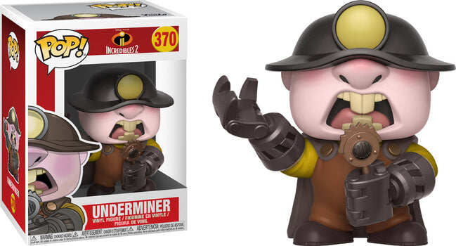 Funko POP! Disney Incredibles 2: Underminer