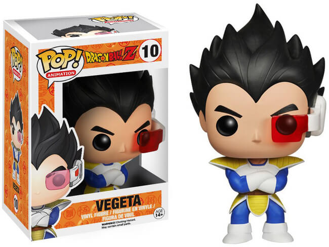 Funko POP! Animation: Dragon Ball Z - Vegeta