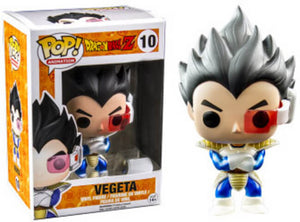 Funko POP! Animation: Dragon Ball Z - Vegeta (Metallic)