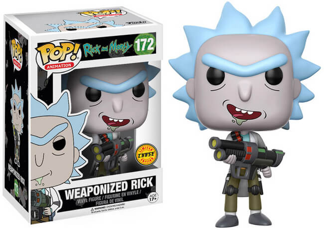 Funko POP! Animation: Rick And Morty - Weaponized Rick (CHASE)