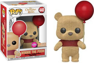Funko POP! Disney Christopher Robin: Winnie the Pooh (Flocked) (Box Lunch)