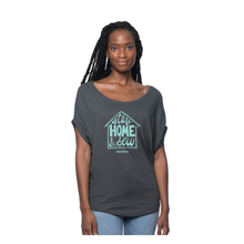 Load image into Gallery viewer, Stay Home & Sew COVID Benefit Tee