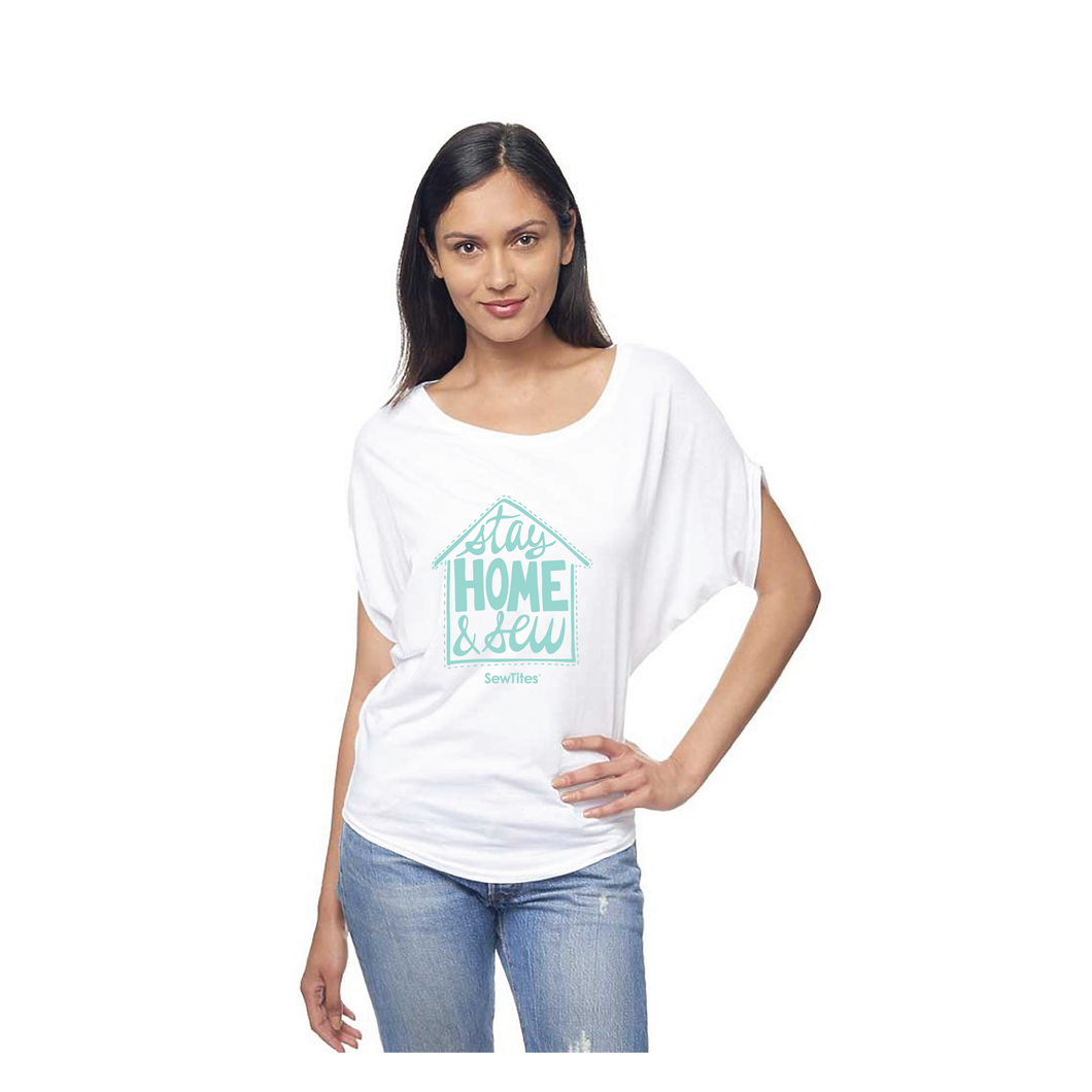 Stay Home & Sew COVID Benefit Tee