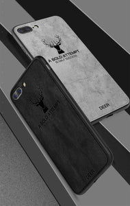 Leather Deer iPhone Case