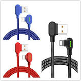 90 Degree Phone Charging Cable