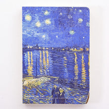 Load image into Gallery viewer, Van Gogh Minimalist Notebook