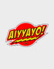 Aiyyayo Red-Stickers - Angi | Tamil T-shirt | Chennai T-shirt