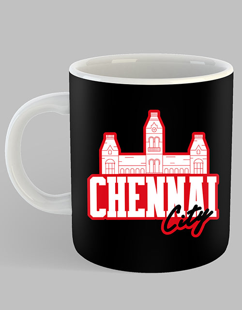 Chennai City Coffee Mug - Angi | Tamil T-shirt | Chennai T-shirt