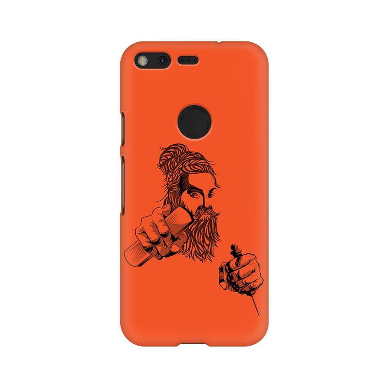 Thiruvalluvar - Google Pixel Mobile covers - Angi | Tamil T-shirt | Chennai T-shirt