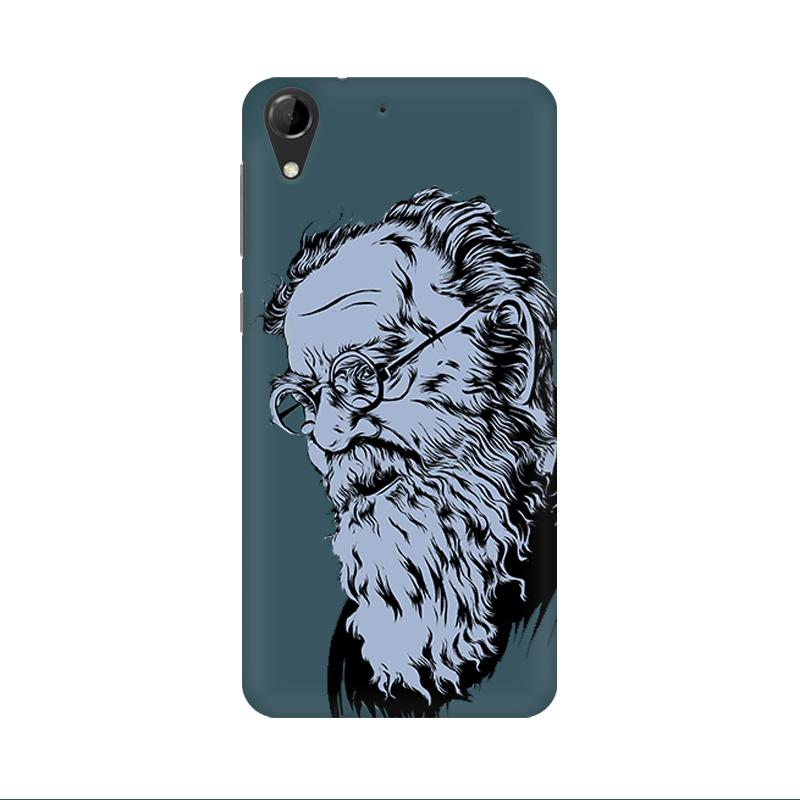 Periyar - HTC Desire 728 Mobile covers - Angi | Tamil T-shirt | Chennai T-shirt