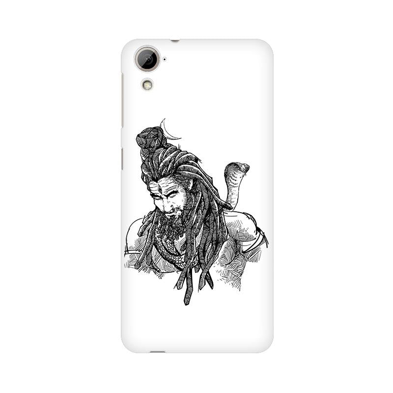 Adiyogi - HTC Desire 820 Mobile covers - Angi | Tamil T-shirt | Chennai T-shirt