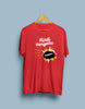 HINDI THERIYADHU PODA RED T-SHIRT
