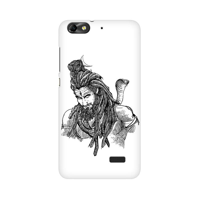 Adiyogi - Huawei Honor 4c Mobile covers - Angi | Tamil T-shirt | Chennai T-shirt