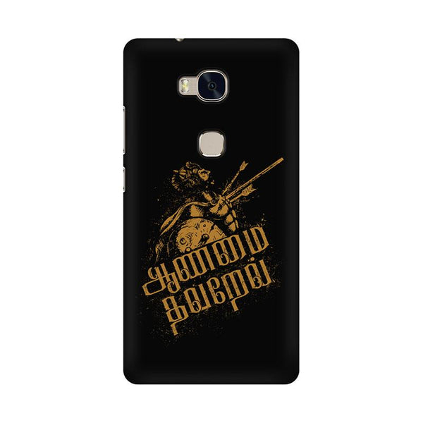 Aanmai thavarel - Honor 5x Mobile covers - Angi | Tamil T-shirt | Chennai T-shirt