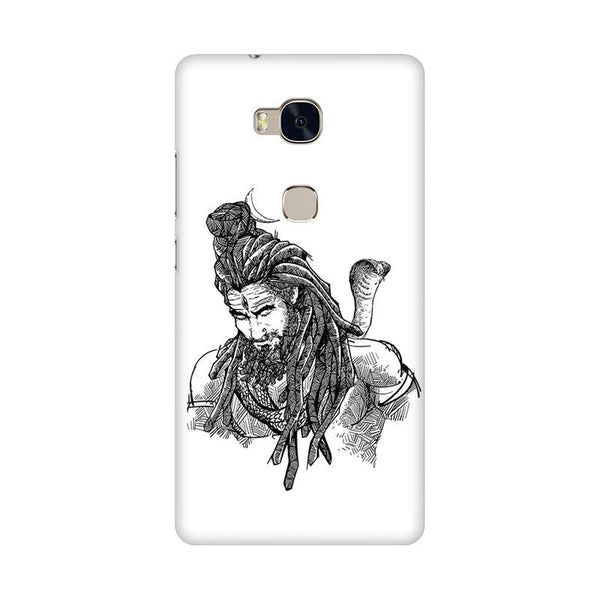 Adiyogi - Honor 5x Mobile covers - Angi | Tamil T-shirt | Chennai T-shirt