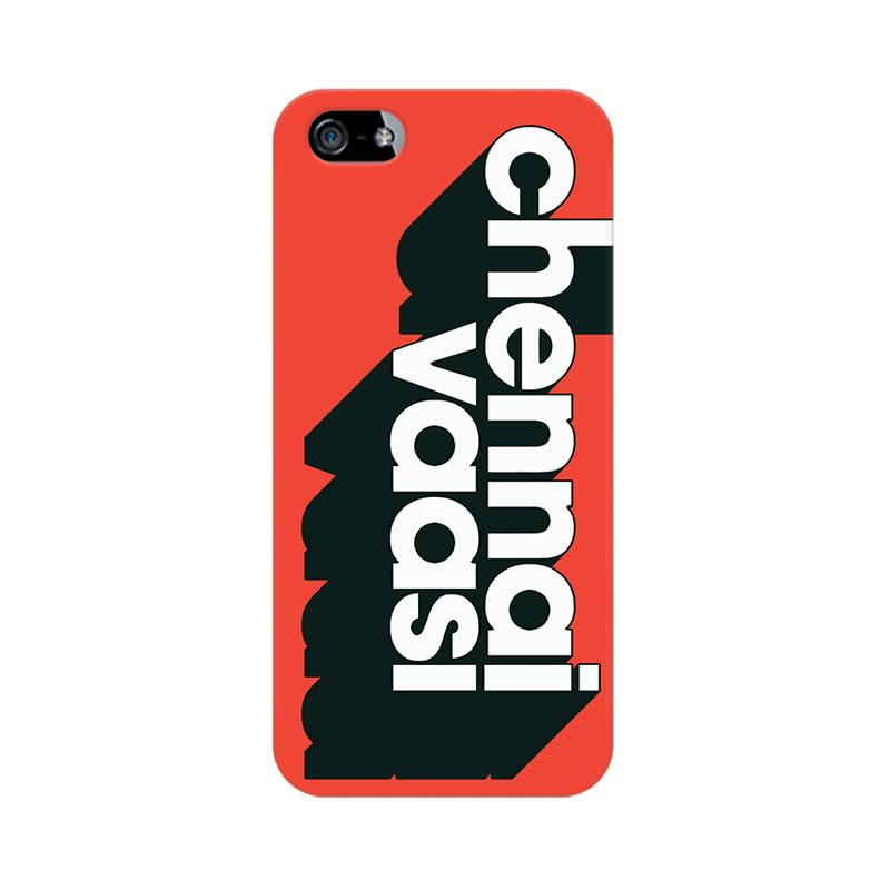 Chennai Vaasi - iPhone 5 Mobile covers - Angi | Tamil T-shirt | Chennai T-shirt