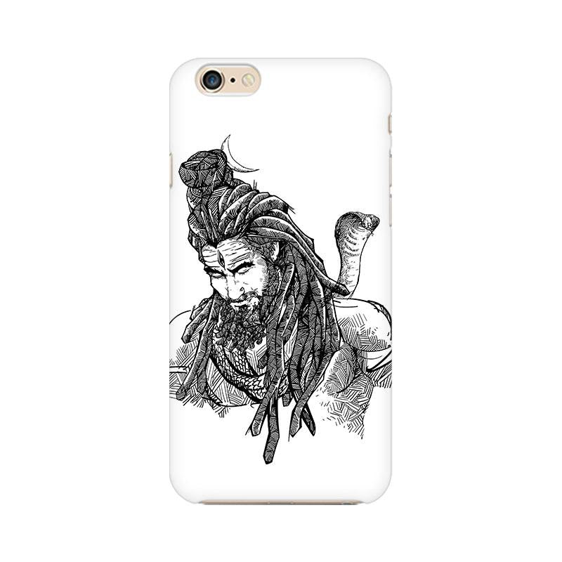 Adiyogi - iPhone 6 Plus Mobile covers - Angi | Tamil T-shirt | Chennai T-shirt