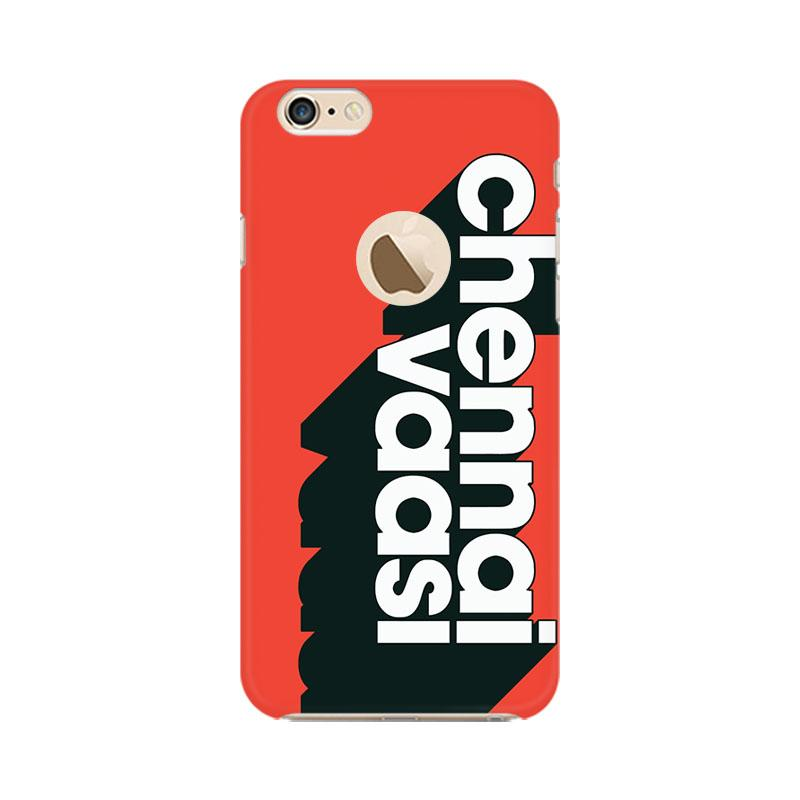 Chennai Vaasi - iPhone 6 Plus hole Mobile covers - Angi | Tamil T-shirt | Chennai T-shirt