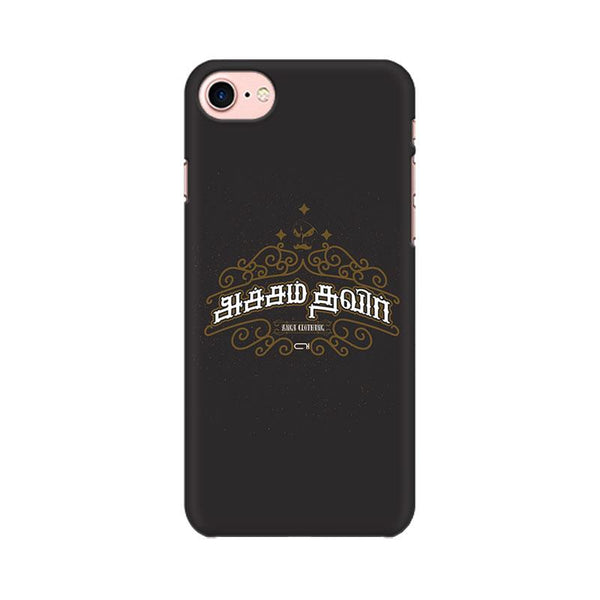 Acham Thavir - iPhone 7 Mobile covers - Angi | Tamil T-shirt | Chennai T-shirt