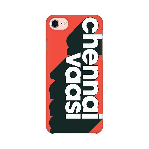 Chennai Vaasi - iPhone 7 Mobile covers - Angi | Tamil T-shirt | Chennai T-shirt