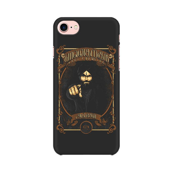 Yaan Anjen Bharathi - iPhone 7 Mobile covers - Angi | Tamil T-shirt | Chennai T-shirt