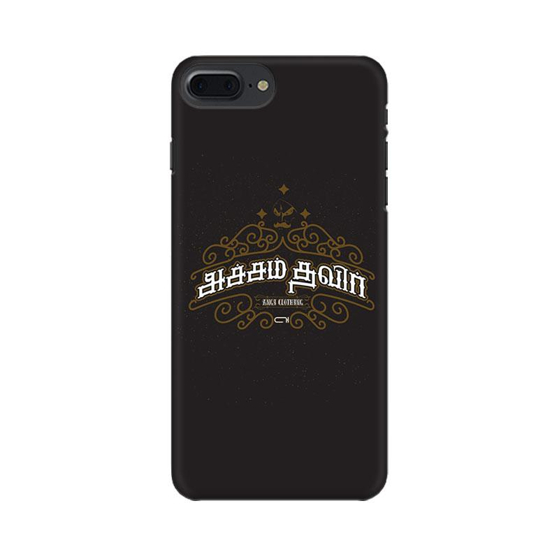 Acham Thavir - iPhone 7 Plus Mobile covers - Angi | Tamil T-shirt | Chennai T-shirt
