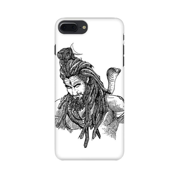 Adiyogi - iPhone 7 Plus Mobile covers - Angi | Tamil T-shirt | Chennai T-shirt