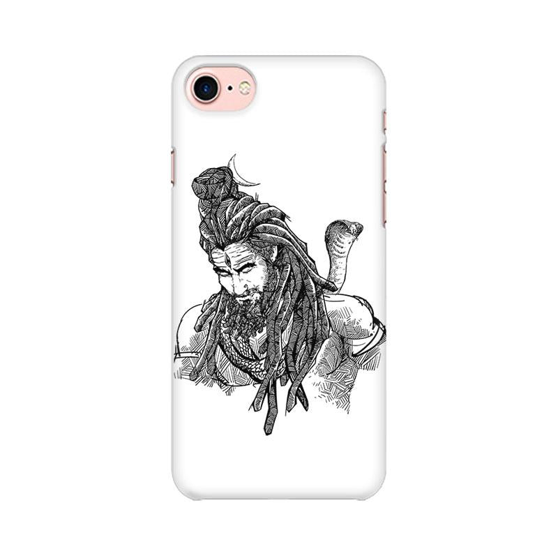 Adiyogi - iPhone 8 Mobile covers - Angi | Tamil T-shirt | Chennai T-shirt