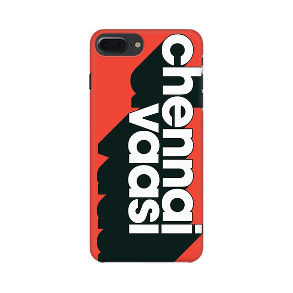 Chennai Vaasi - iPhone 8 Plus Mobile covers - Angi | Tamil T-shirt | Chennai T-shirt
