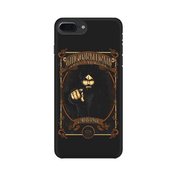 Yaan Anjen Bharathi - iPhone 8 Plus Mobile covers - Angi | Tamil T-shirt | Chennai T-shirt