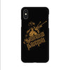 Aanmai thavarel - iPhone X Mobile covers - Angi | Tamil T-shirt | Chennai T-shirt