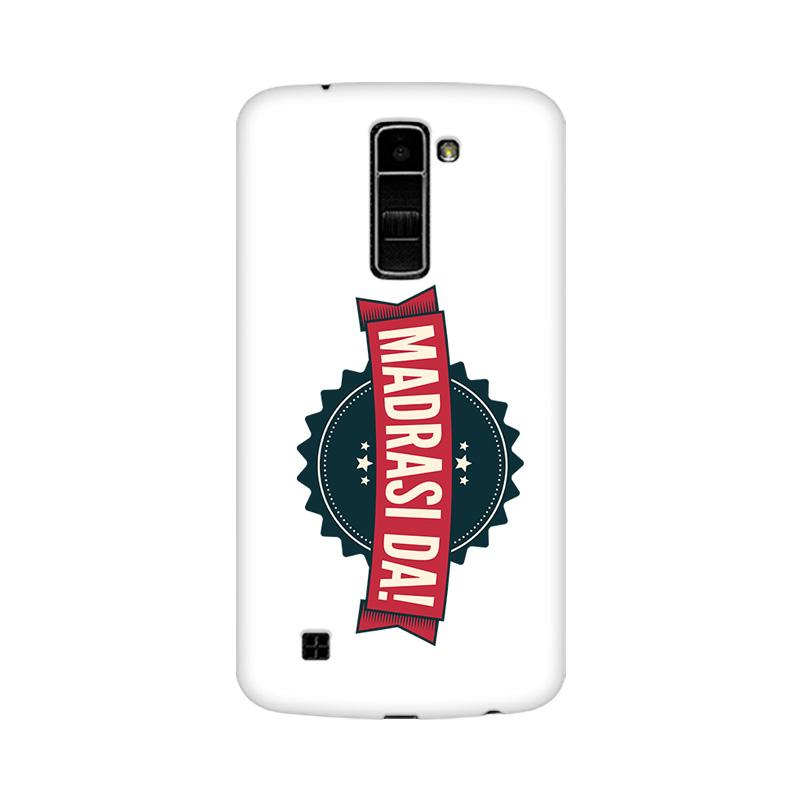 Madrasi da - LG K7 Mobile covers - Angi | Tamil T-shirt | Chennai T-shirt
