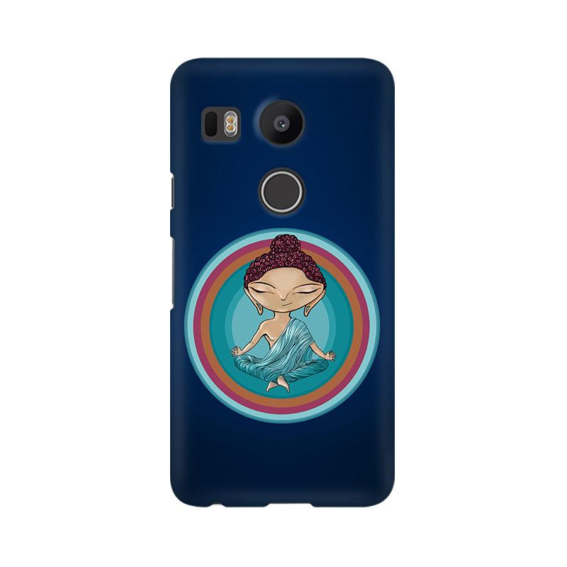 Buddha - Nexus 5X Mobile covers - Angi | Tamil T-shirt | Chennai T-shirt